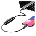 Baterie Externă Power Bank Baseus Portable - Lightning, USB-C, MicroUSB - Negru