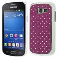 Capac Protecție Spate Samsung Galaxy Fresh S7390 - Bling Diamond - Mov