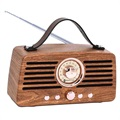 Boxă Bluetooth Creative Retro Radio FM - Maro