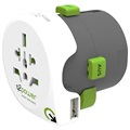 Adaptor De Călătorie USB Universal Q2Power QDAPTER - 10A