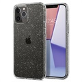 Husă Spigen Liquid Crystal Glitter - iPhone 12/12 Pro - Transparent