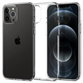 Husă TPU iPhone 12/12 Pro - Spigen Liquid Crystal - Transparent