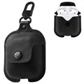 Husă Piele Apple AirPods - Twelve South AirSnap - Negru