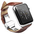 Brățară Piele Apple Watch Series 4/3/2/1 - Qialino - 42mm - Maro